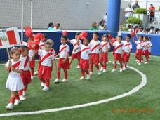 En cancha sintética La Gambeta, se llevó a cabo la inauguración del V Campeonato de Mini Fútbol