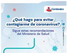 ¿Qué hago para evitar contagiarme de coronavirus?, sigue estas recomendaciones