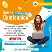 Paso a paso para solicitar cualquiera de nuestras líneas de crédito desde Comfeweb