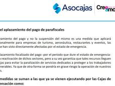 Cajas de Compensación listas para responder a la emergencia y proteger a los empleados en situación