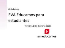 Guía básica EVA Educamos para estudiantes