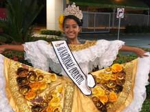 Victoria Cabrera, estudiante de Ciudad Escolar Comfenalco, gana Reinado Infantil del Sanjuanero