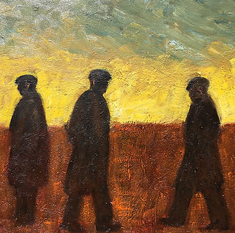 Ken White Men in Yellow and Black