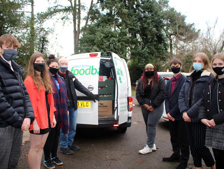 Over 700 meals donated to Foodbank