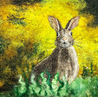 Ushma Sargeant Hare on Yellow