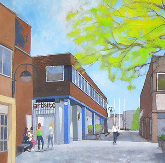 Artsite Swindon for Swindon open Studios