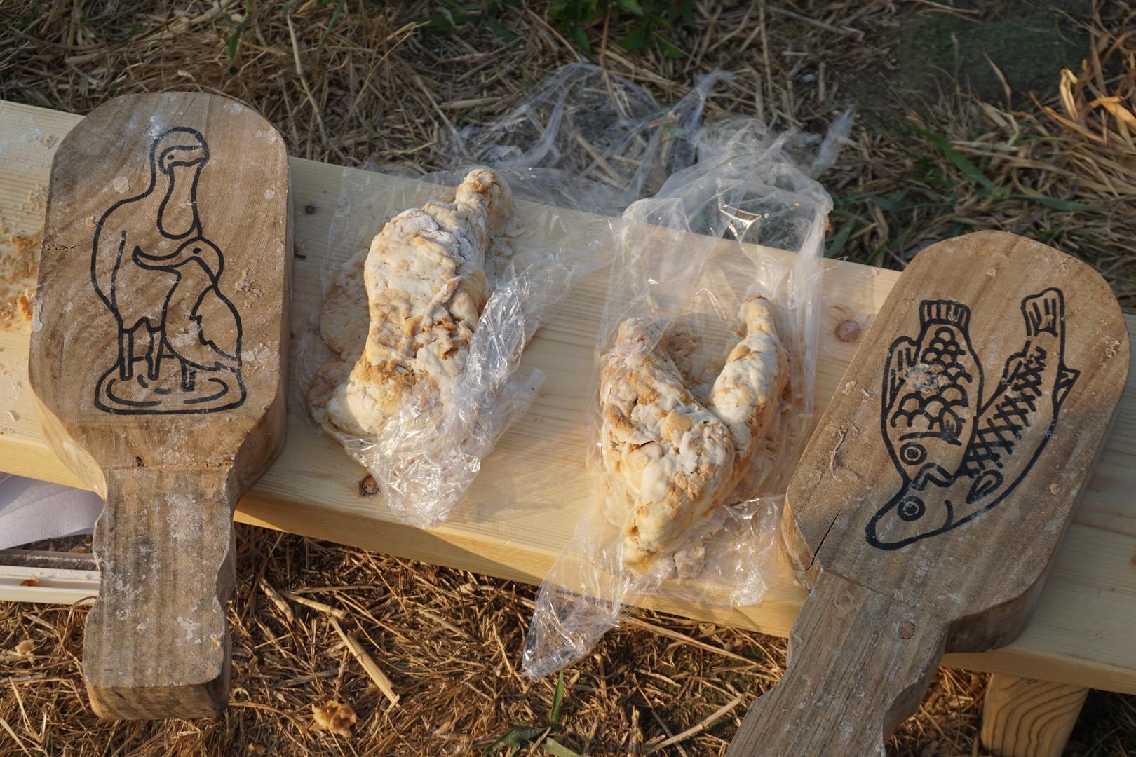 麵包雕塑成品