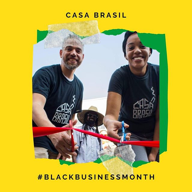 Keyla Nogueira Cook and Tim Guthrie, owners of Casa Brasil