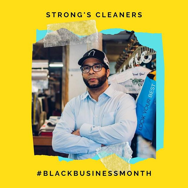 Justin Strong, owner of Strong's Cleaners