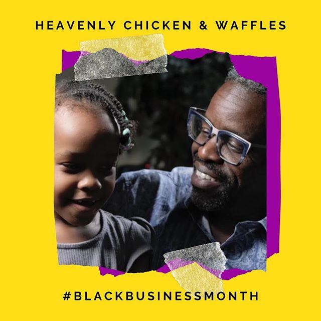 Aaron Sanders, owner of Heavenly Chicken & Waffles