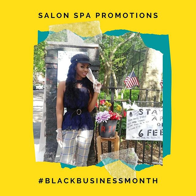 Eleni Selassie, owner of Salon Spa Promotions