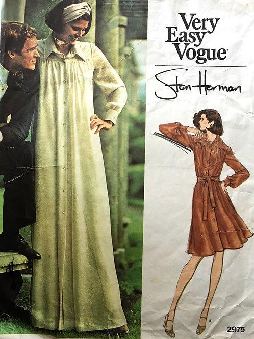 Vogue 2975 Stan Herman 1970s retro look