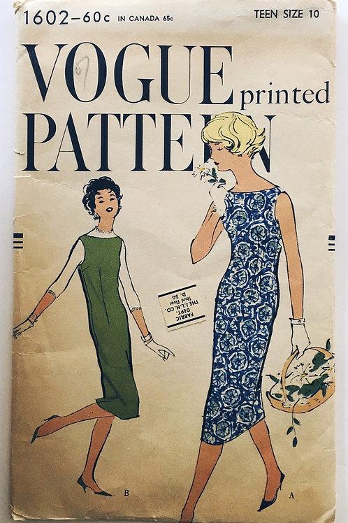 Vogue 1502 retro 1950s teen jumper