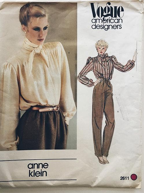 Vogue American Designer 2611 Anne Klein