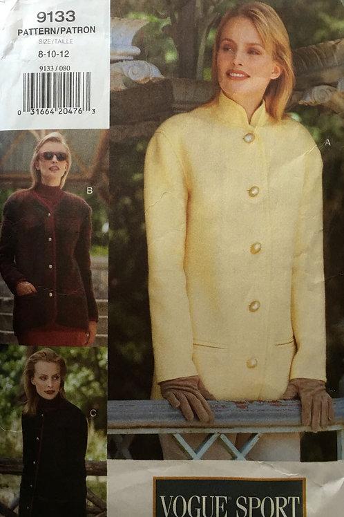 Vogue 9133 Chanel style jacket