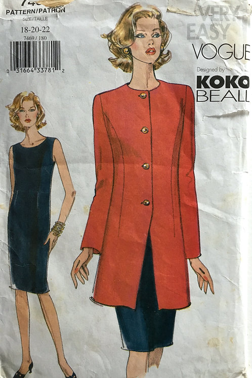 Vogue 7469 Koko Beall.