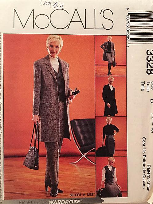 Lined Vest, Front Fly Pants Side Pocket Skirt,