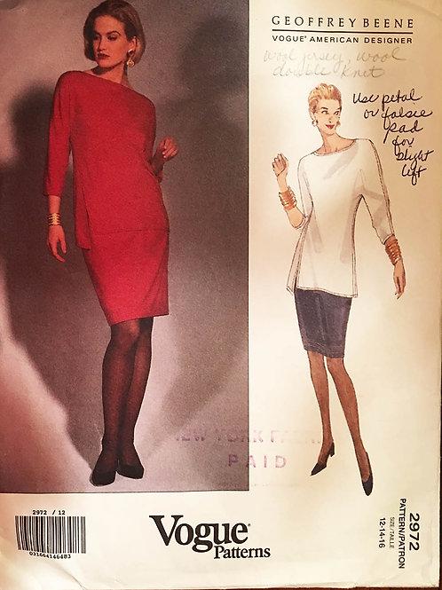 Vogue Designer 2972. Geoffrey Beene