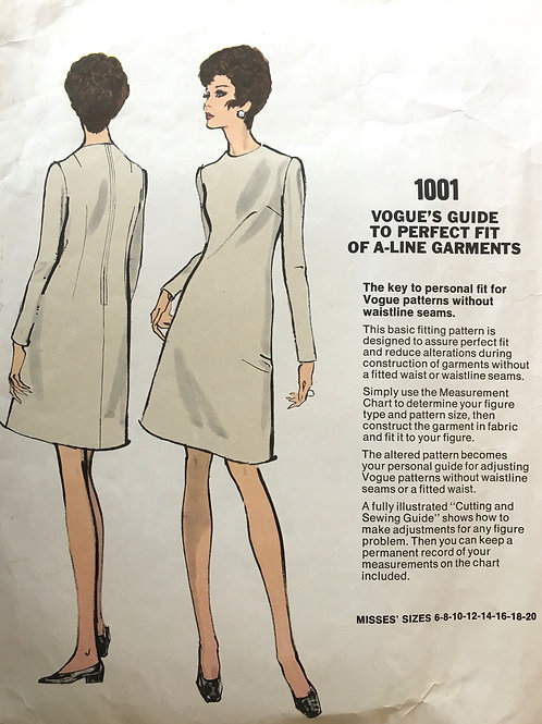 Vogue Basic Design 1001 fitting shell