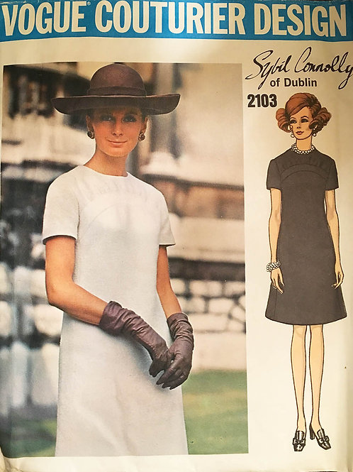 Vogue Couturier 2103. by Sybil Connelly of Dublin