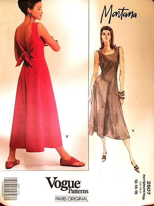 Vogue Paris Original 2507. Montana. Summer dress