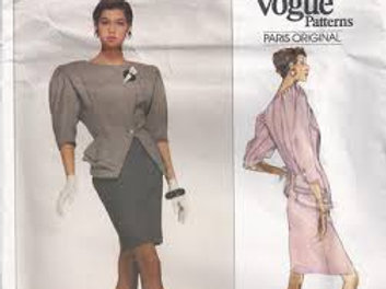 Vogue Paris Original  2309, Emile Ungaro Peplum jacket
