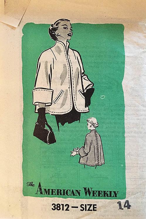 American Weekly 3812 Retro 50s swing jacket