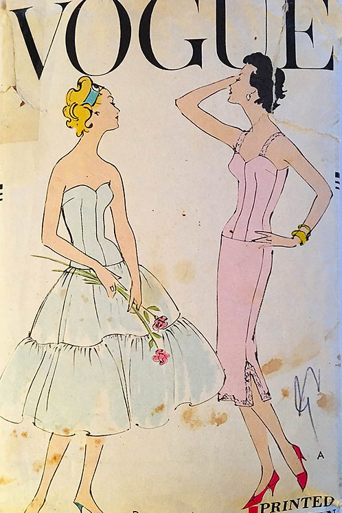 Vogue 9309 Three Retro 1957 FullSlip styles