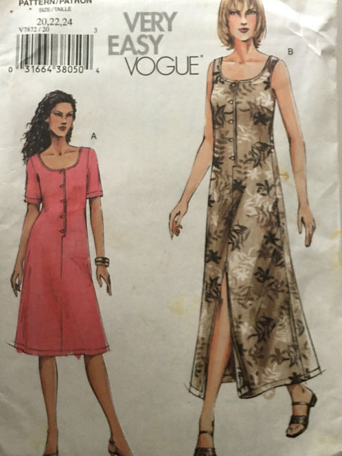Vogue 7668. Plus size Dress and Jacket. Easy to Make!