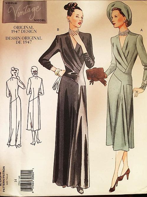 Vogue Vintage 2354 Reproduction 1947