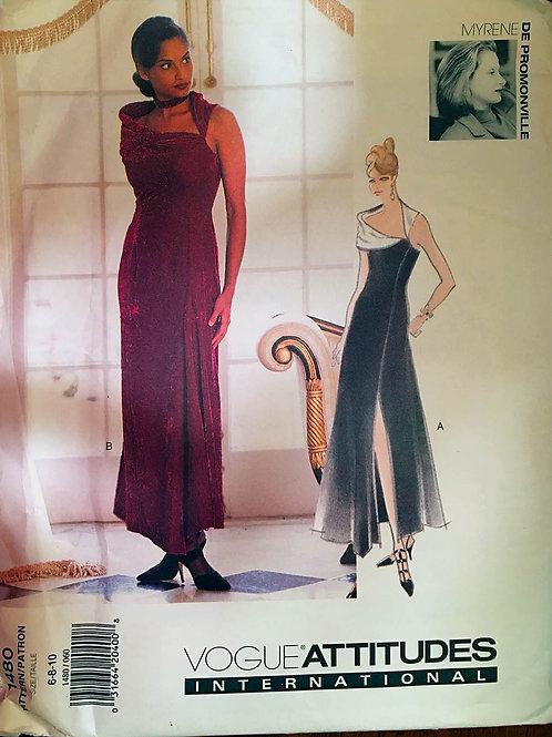 Vogue 1480. Paris designer Myrene de Promonville.