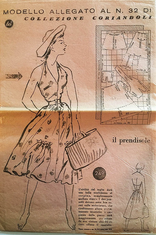 Modello Allegato No. 32, Summer frock from 1950s