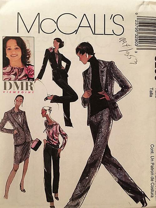 McCall's 3290, DMR Daphne Maxwell Reid wardrobe Pattern