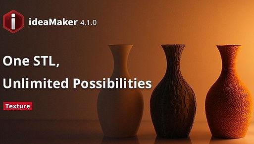 Raise3D推出客製化紋理功能的ideaMaker 4.1.0 (1).jpg