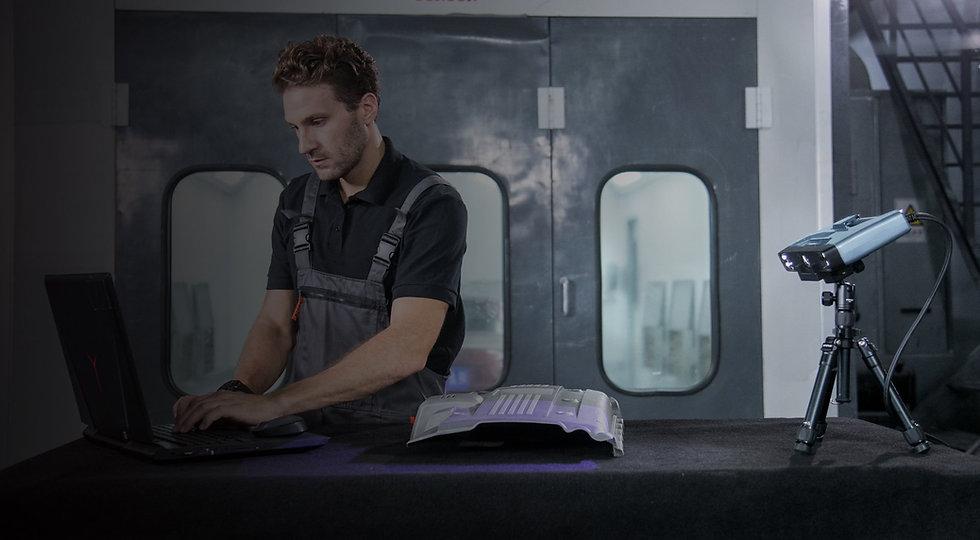 EinScan-Pro 2X Plus 3D掃描器,以最簡單的操作,提供3D解決方案