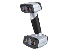 EinScan HX 雙藍光手持3D掃描器,反射和深色可進行高精度掃描