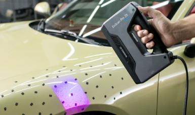 EinSacn Pro 2X,3D掃描汽車改裝