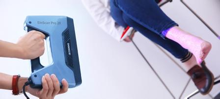 EinSacn Pro 2X,3D掃描醫療輔具