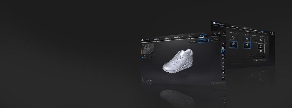 Shining3D EXSCAN PRO 掃描軟體,全新介面,品質升級