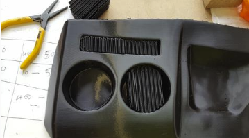 3D掃描列印汽車零件