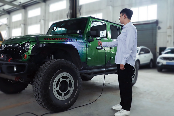 Einscan HX 3D掃描整車