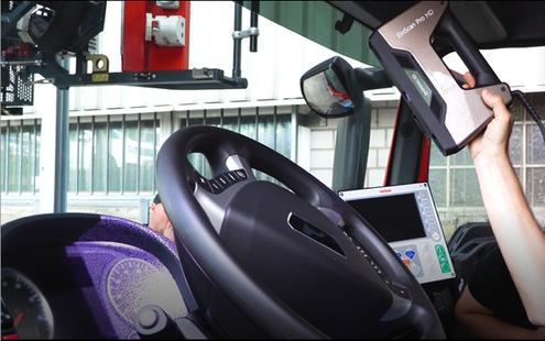 EinScan Pro HD 客製化掃描消防車
