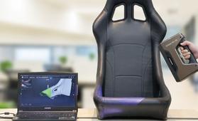 3D掃描汽車內飾