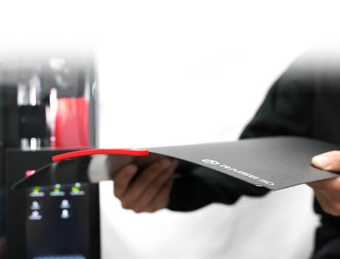 靈活的柔性底板,方便於取下列印模型