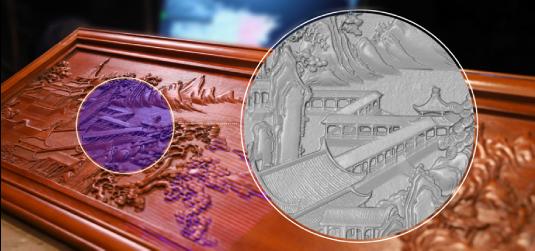 3D掃描藝術品,數位典藏