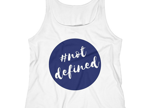 #not defined Relaxed Jersey Tank Top