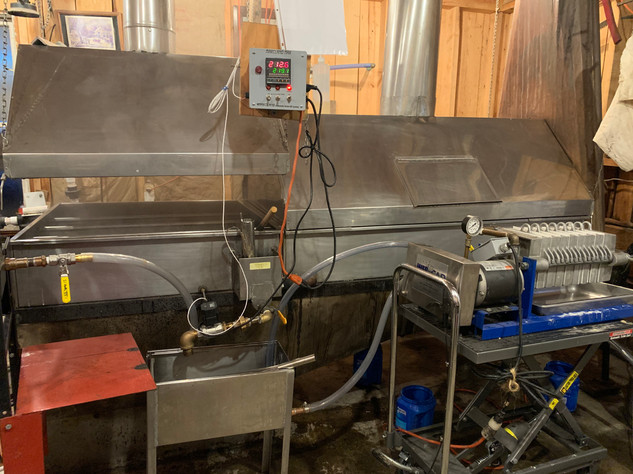 Evaporator in action