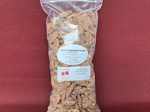 Pecans, Maple & Cinnamon Coated - Pound