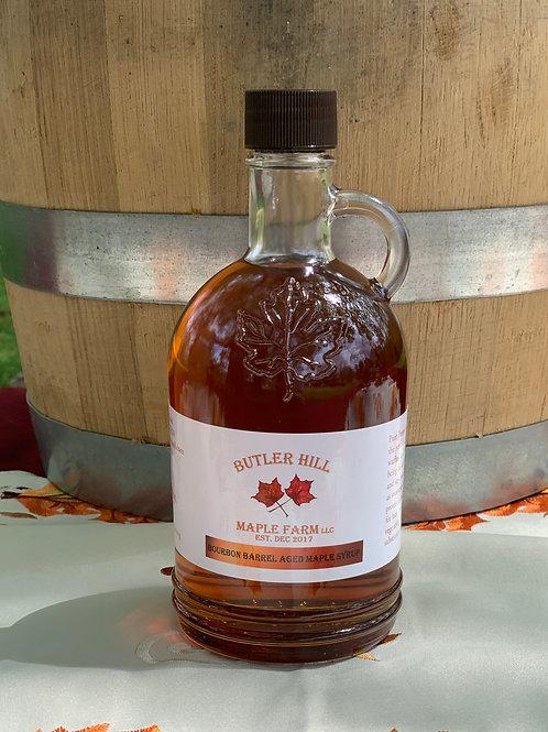 Bourbon Barrel Aged Syrup - 500ml Gallone (round)