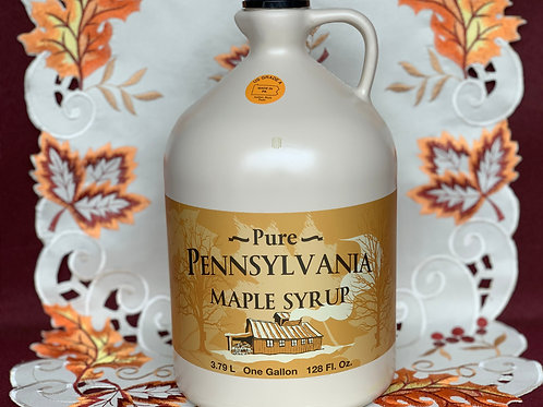 Amber Maple Syrup - Gallon